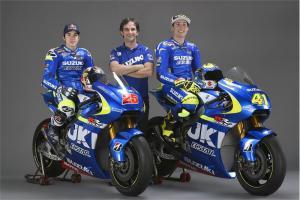 Suzuki presents 2015 MotoGP racer