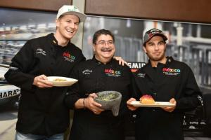 Perez, Hulkenberg take their rivalry to the kitchen