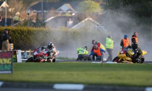 NW200: Female spectator and rider critically injured