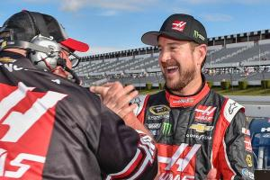 Kurt Busch on song at Pocono's Tricky Triangle