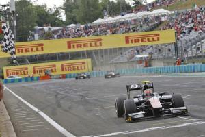 Hungary: GP2 sprint race results