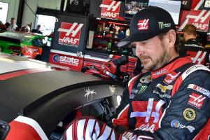 JGR quartet on song in Pocono Saturday practice