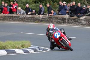 Classic TT: Rutter victorious on Ripley Land Honda