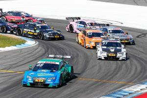 Mortara dominates incident-filled opener
