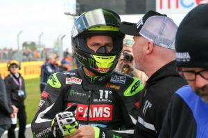 Ellison sets the standard with new lap record