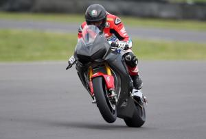 Martin, McGuinness get to grips with new Honda SP2