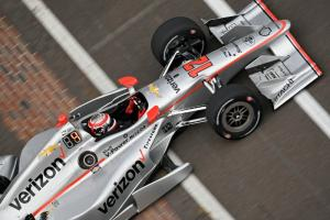 Power takes INDYCAR GP pole with new track record