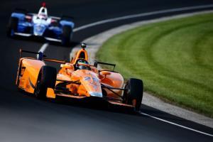 Fernando Alonso Indy 500 practice
