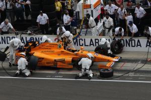 Indy 500 Alonso