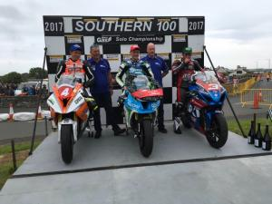 Southern 100: Harrison crowned Solo champion
