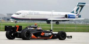 Danica gets Boost before Indy.
