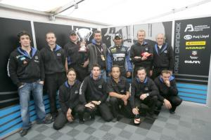 First podium for ORT as Chandhok finds form.