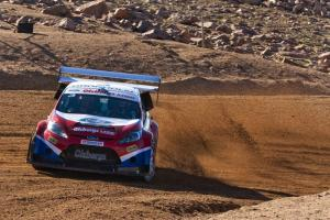 Gronholm takes second at Pikes Peak