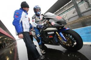 Kagayama, Hill shake down 2010 Suzuki
