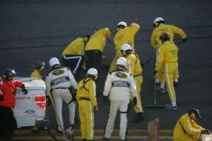 Track woes turn Daytona 500 into marathon