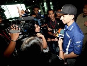 Lorenzo's Indonesian trip ends in Bali