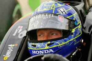 Short-lived IndyCar return for speedy Conway