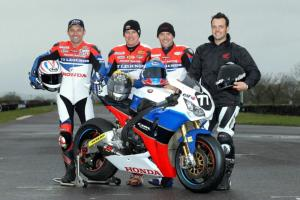 Honda TT Legends prepare for season start