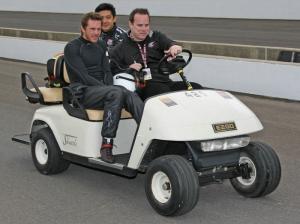 Scott Speed denies Indy 'quit' rumours