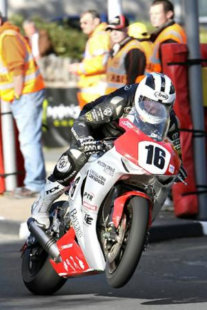 TT2012: William Dunlop satisfied with 'positive' results