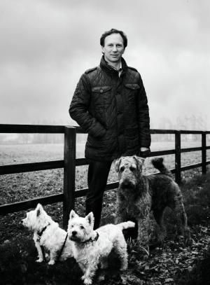 Christian Horner: Just walking the dogs