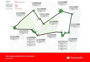 Go for a lap of the London Grand Prix circuit!