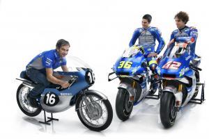 Davide Brivio, Alex Rins, Joan Mir, Suzuki, MotoGP,