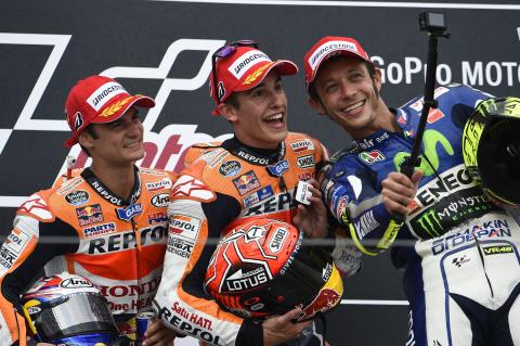 PICS: Marquez's nine from nine at Sachsenring