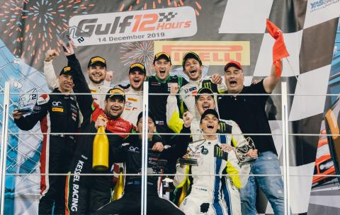 Rossi thrilled with Gulf 12 Hours podium, class victory