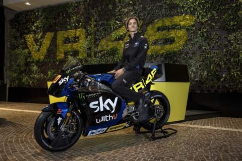 'Just focus on riding' is the objective for Luca Marini ahead of MotoGP debut