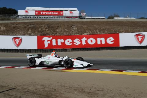 Herta leads pack of rookies at opening practice at WeatherTech Raceway