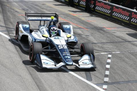 Chilton confirmed for IndyCar return in 2019
