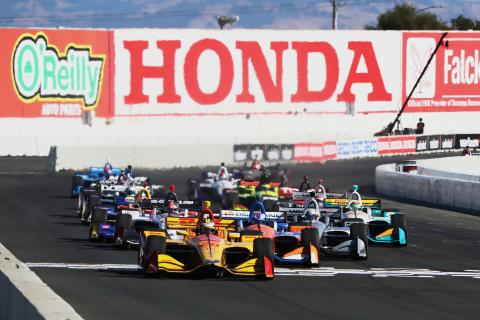 IndyCar Grand Prix of Sonoma - Race Results