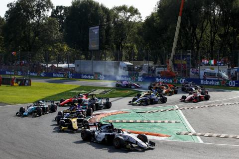 Formula 2 Italy - Feature Race Results