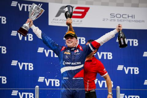 Shwartzman clinches F3 title as Armstrong takes Sochi victory