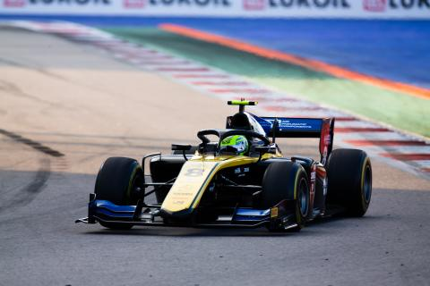 Ghiotto holds on for Sochi F2 Sprint Race victory