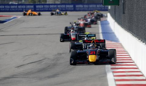 Red Bull junior Vips closes out F3 season with Sochi win