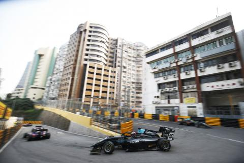 Hughes on provisional pole after opening Macau F3 qualifying