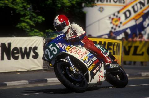 Multiple TT winner Tony Rutter has died
