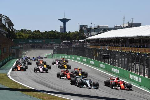 When is the F1 Brazilian Grand Prix and how can I watch it?