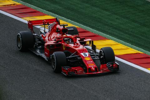 Vettel takes dominant Belgian GP win after start drama