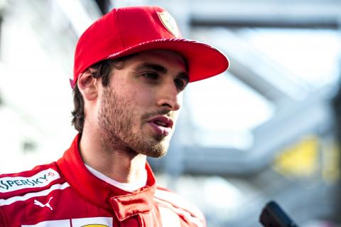 Giovinazzi enjoys 'good comeback' despite sickness