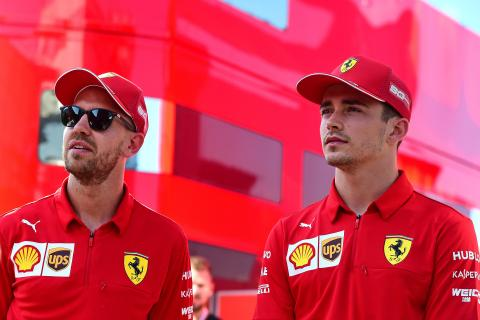Leclerc reveals biggest lesson learned from Vettel at Ferrari