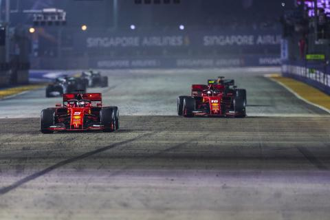 F1 Race Analysis: The thinking behind Ferrari's Singapore strategy