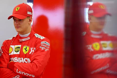 Do the hopes of a nation weigh heavy on Mick Schumacher?