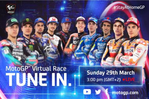 MotoGP announces 'Virtual Race 2'