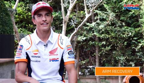 Marc Marquez talks recovery, 'strange' season, Portimao 'hope'