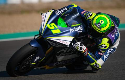 Jerez MotoE test times - Tuesday (FINAL)