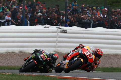 Folger gives insight into Marquez strength