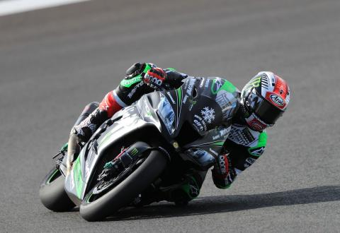 Rea lays down marker at Portimao test